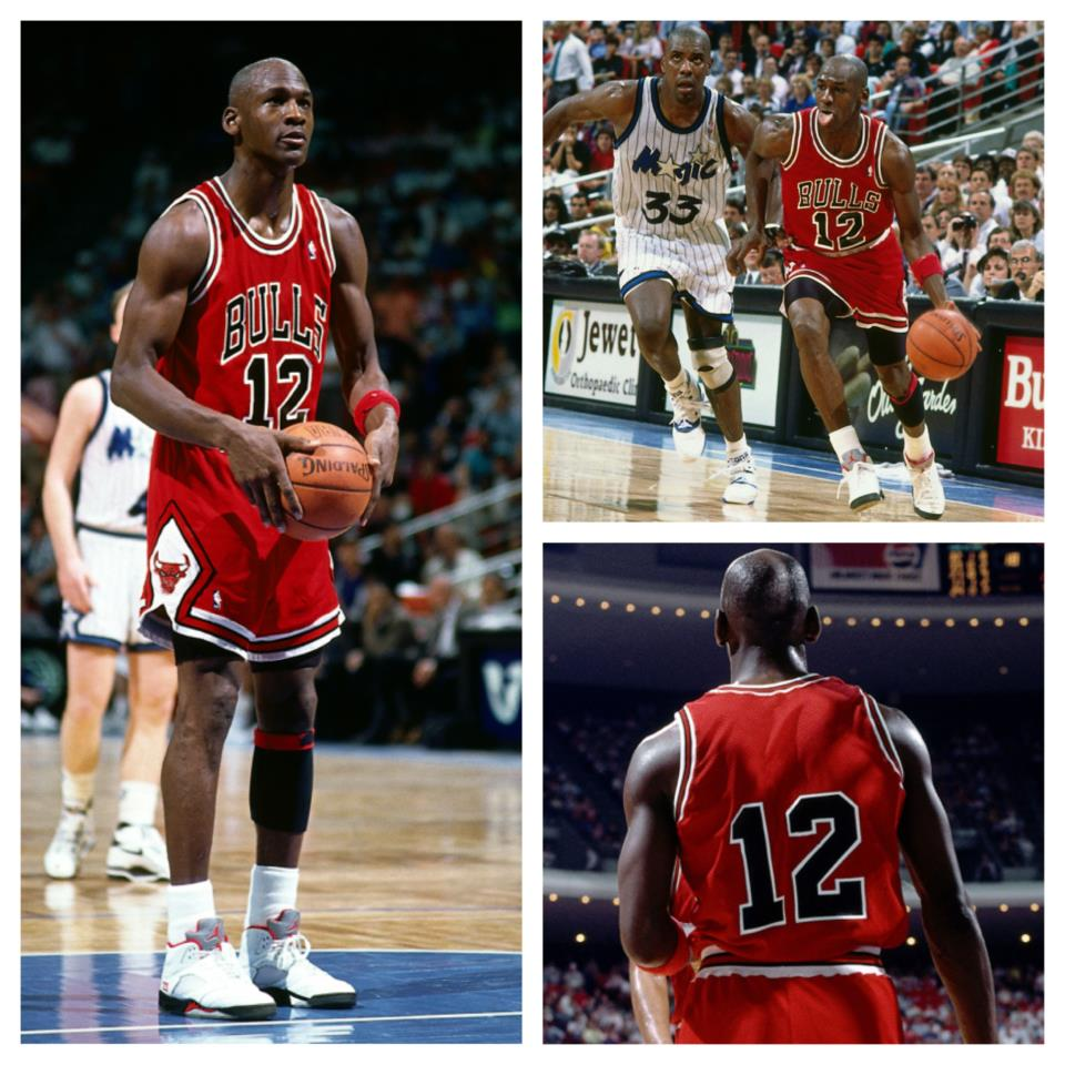 9020337dd4dc ... Jordan 12 Gym Red (Alternate) • Weird basketball photos ...