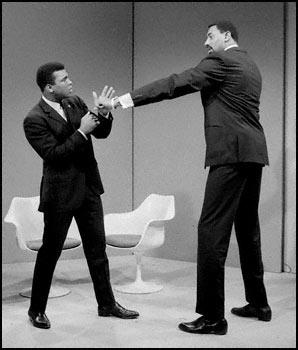 Wilt Chamberlain and Muhammed Ali