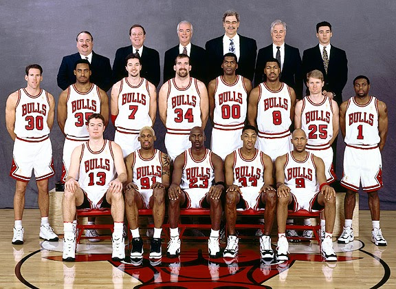 1997 NBA Champion Chicago Bulls