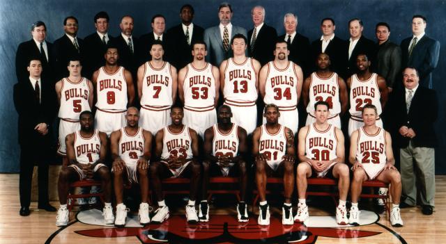 1998 NBA Champion Chicago Bulls