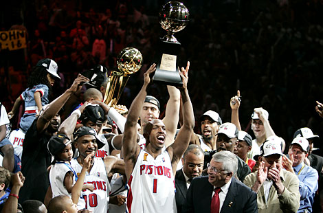 2004 NBA Champion Detroit Pistons