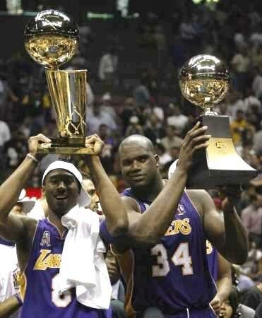 2002 NBA Champion Los Angeles Lakers