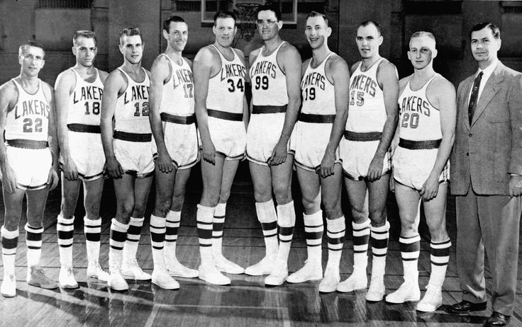 1954 NBA Champion Minneapolis Lakers