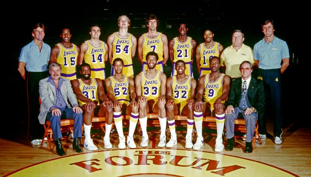 1980 NBA Champion Los Angeles Lakers