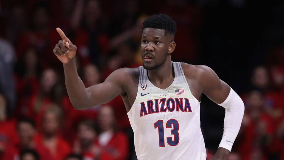 Suns will select DeAndre Ayton number 1 overall