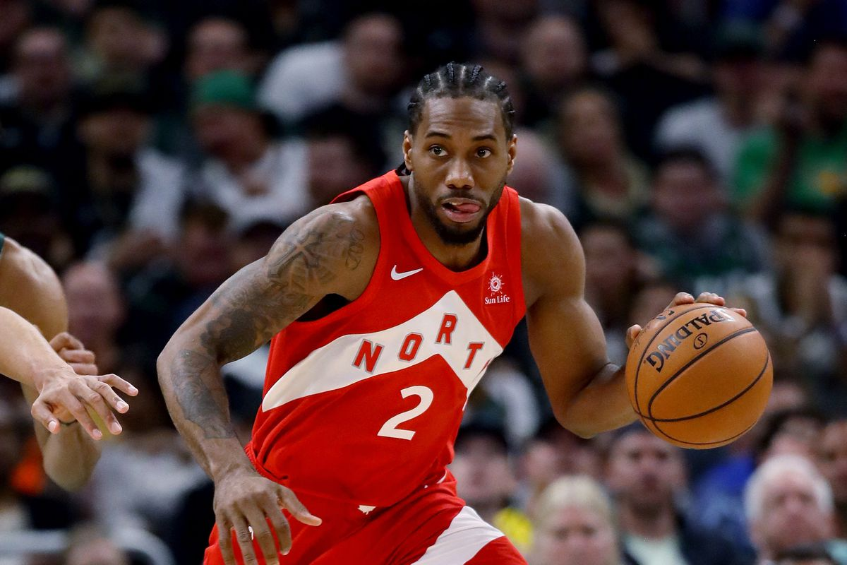 Kawhi Leonard has lead the Raptors to the NBA finals