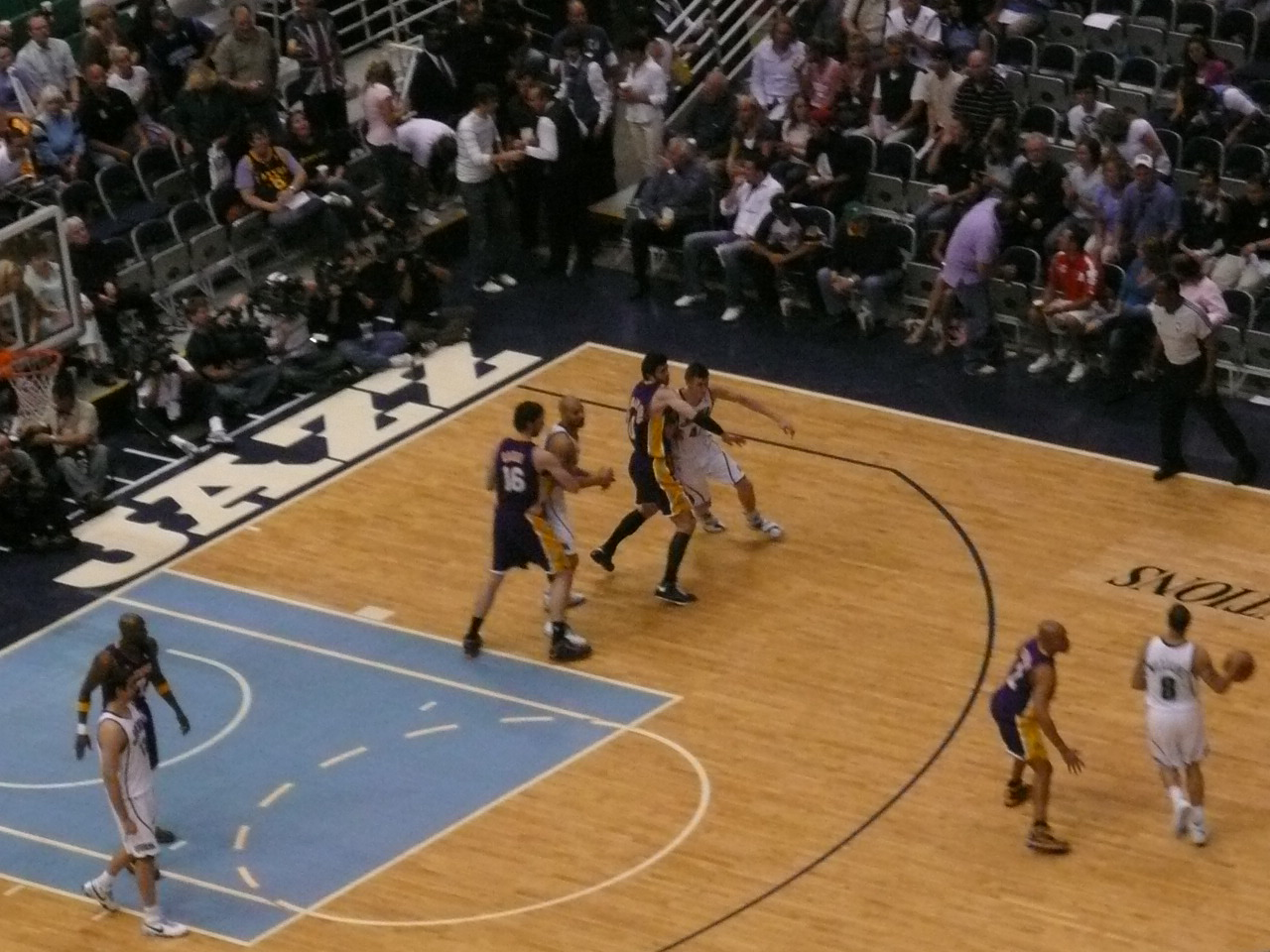 Jazz Lakers Game 4 2008 NBA playoffs